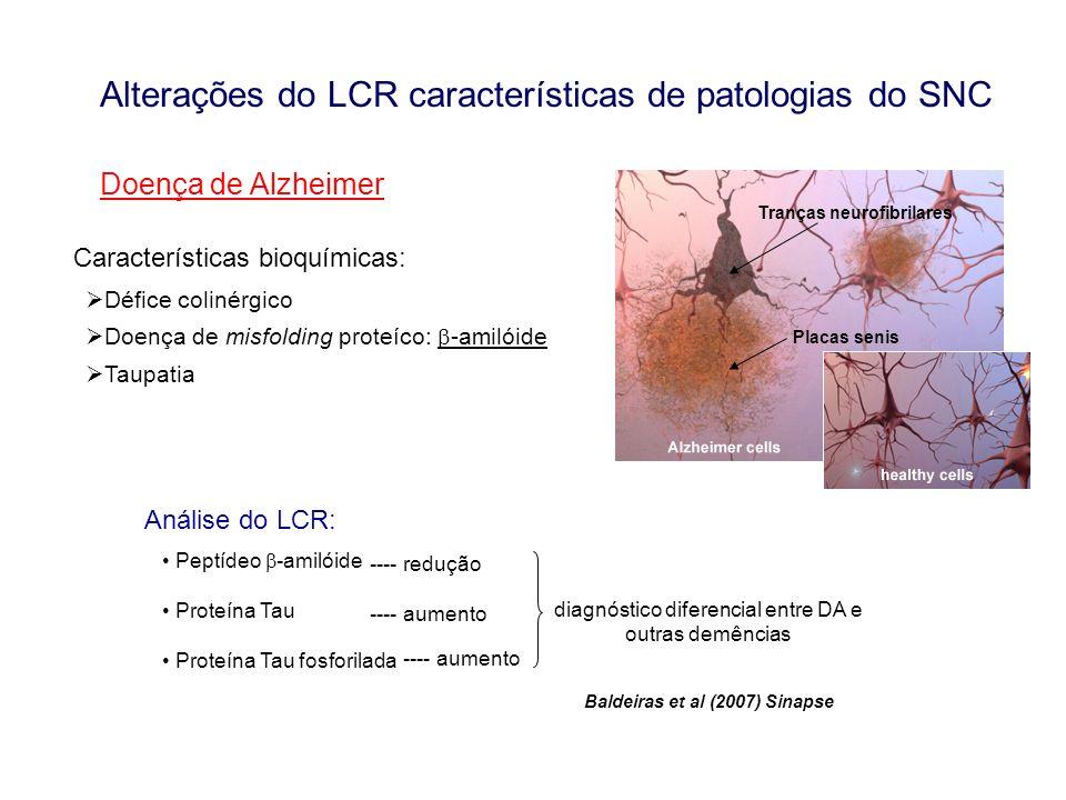 diagnóstico diferencial entre DA e outras demências