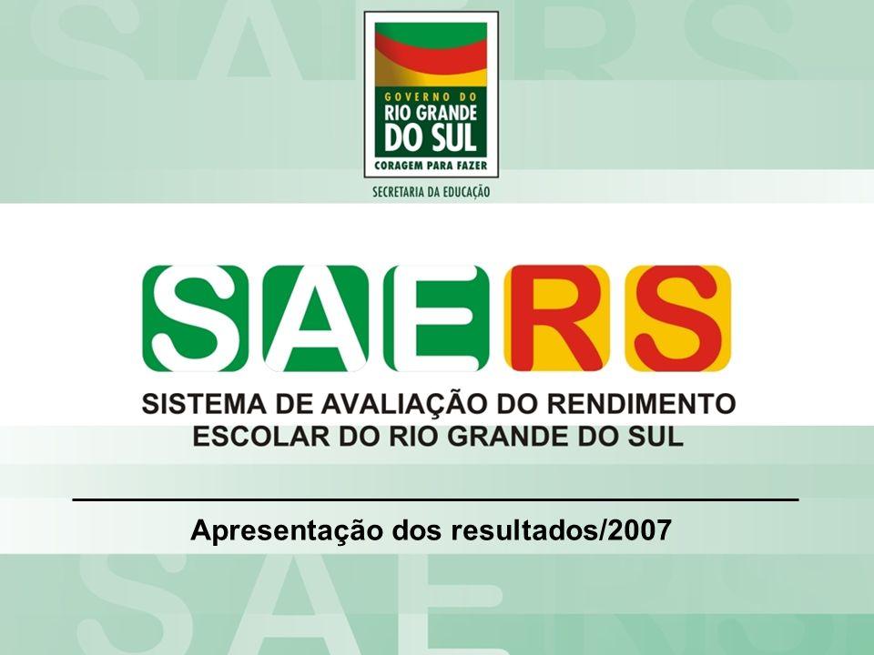 Apresentação dos resultados/2007