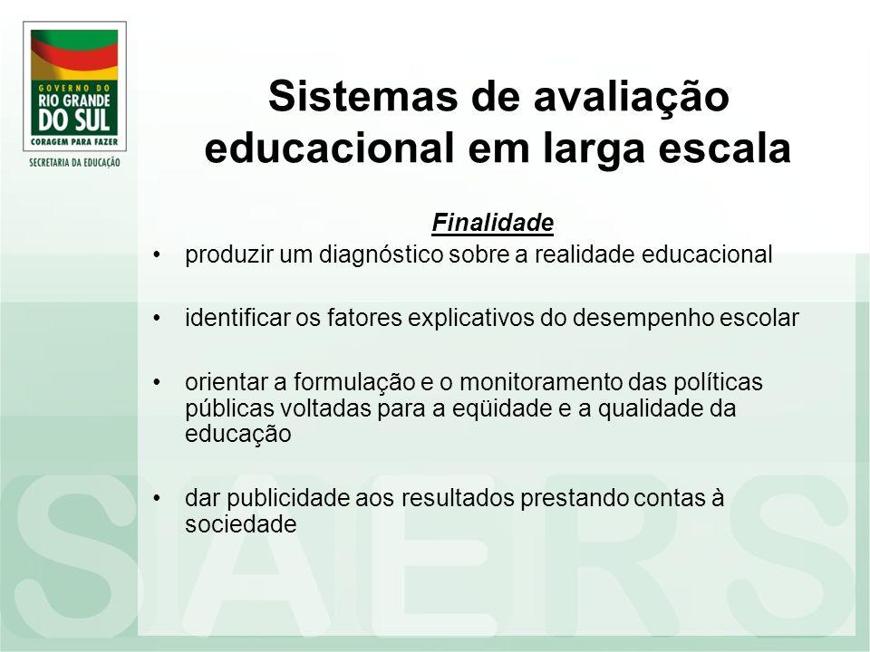 Sistemas de avaliação educacional em larga escala