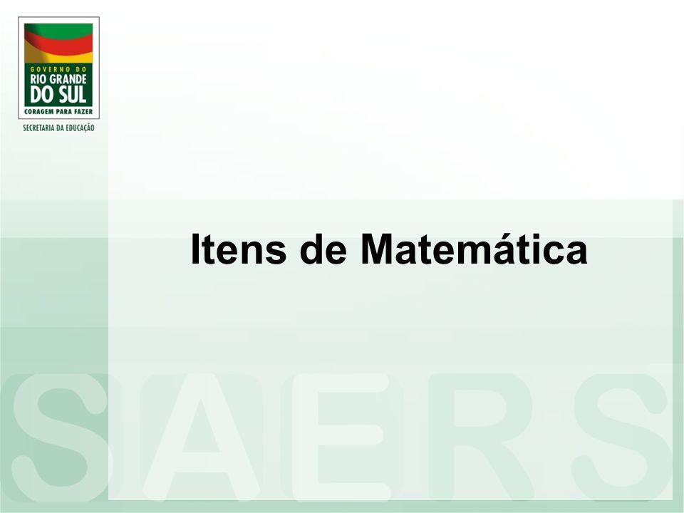 Itens de Matemática