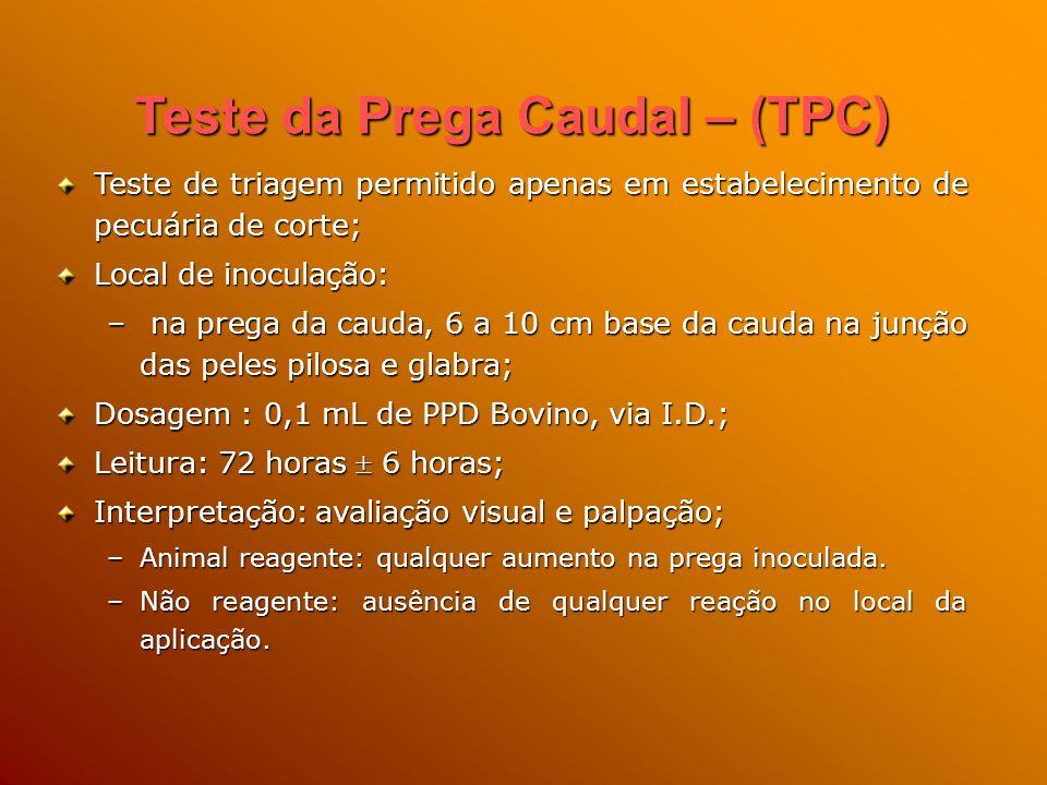 Teste da Prega Caudal – (TPC)