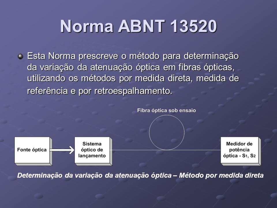 Norma ABNT 13520