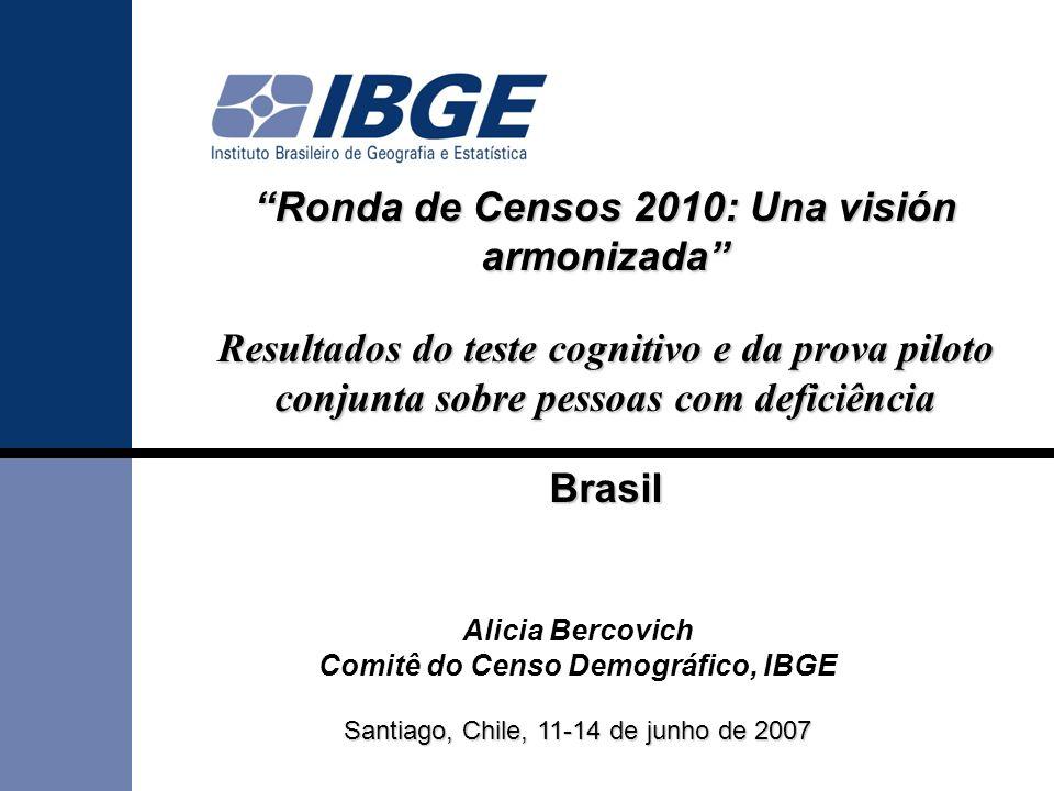 Ronda de Censos 2010: Una visión armonizada