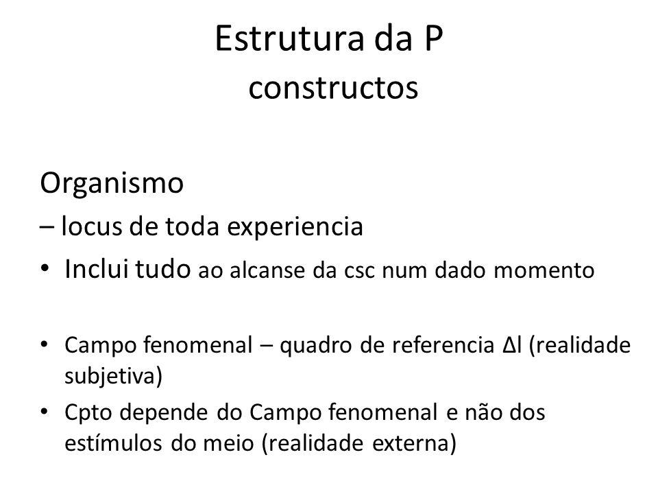 Estrutura da P constructos