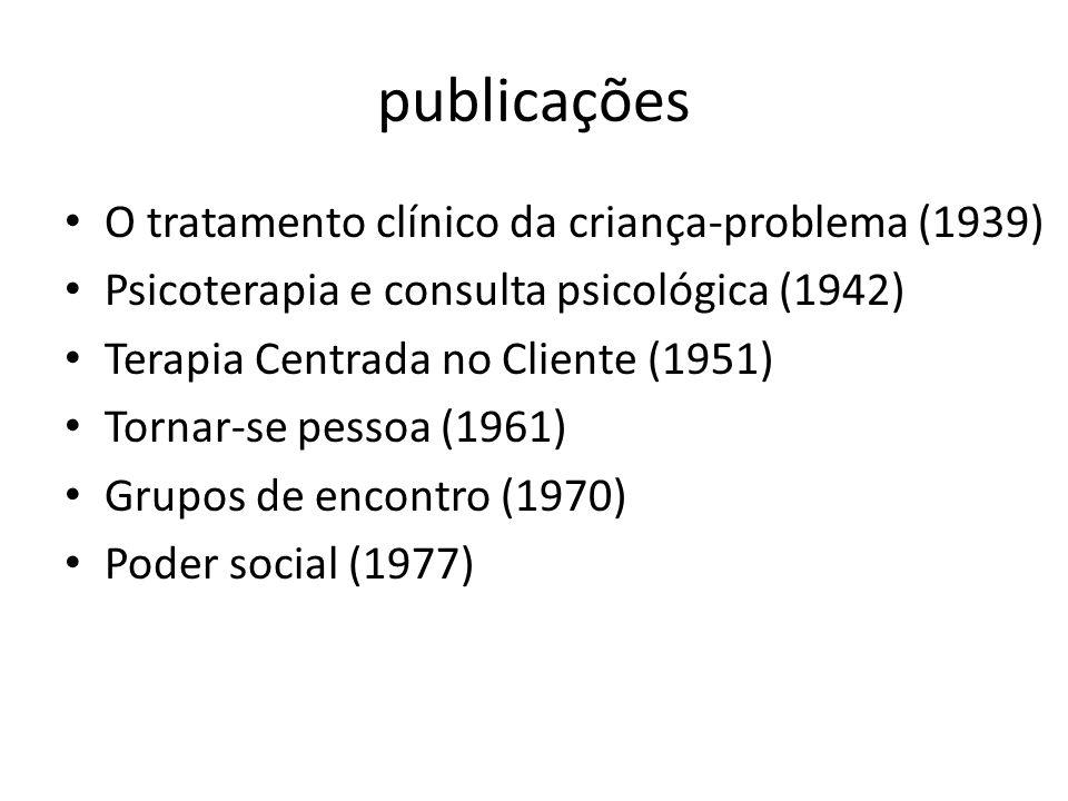 publicações O tratamento clínico da criança-problema (1939)