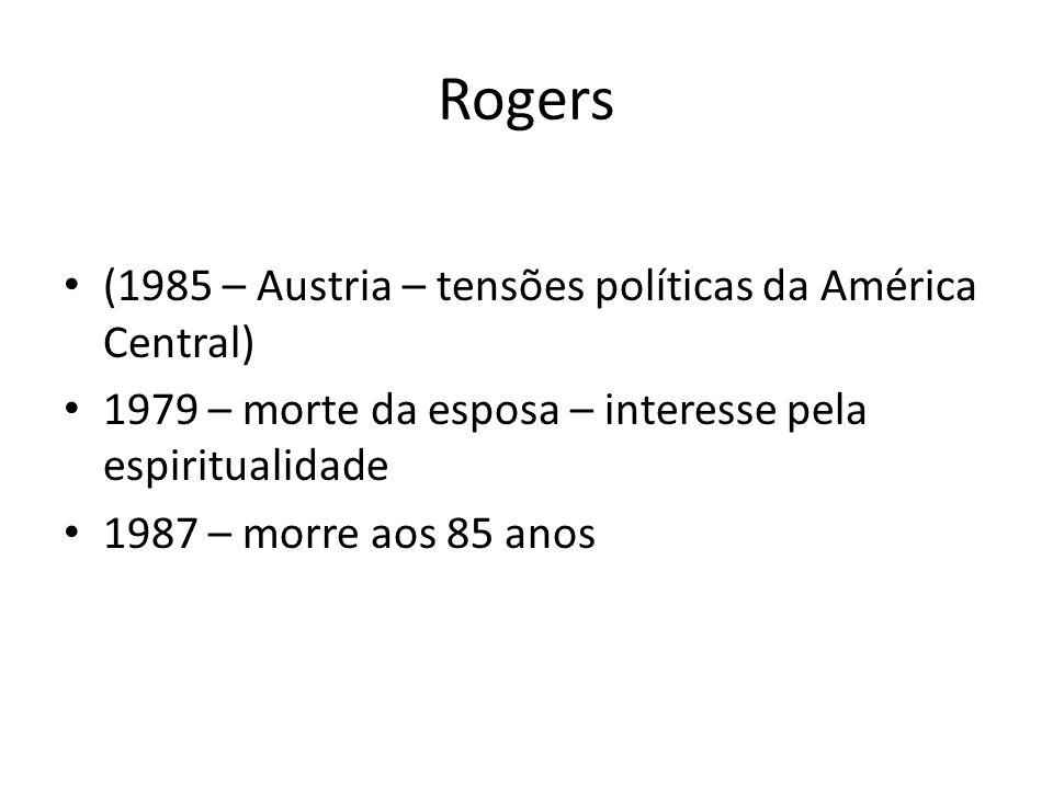 Rogers (1985 – Austria – tensões políticas da América Central)