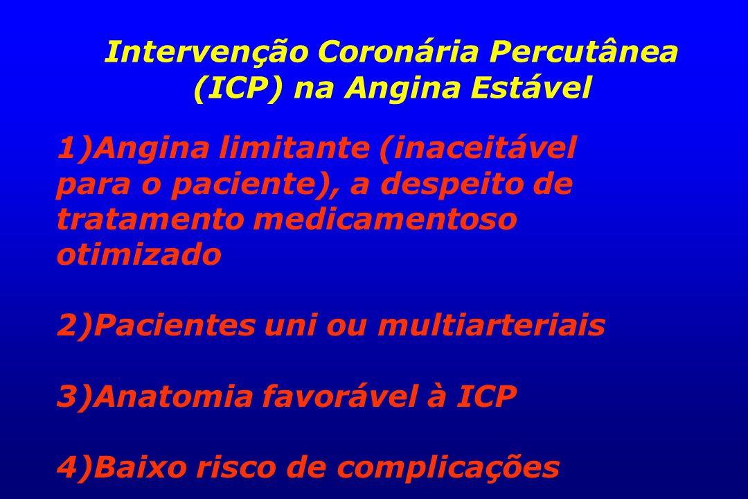 Intervenção Coronária Percutânea (ICP) na Angina Estável