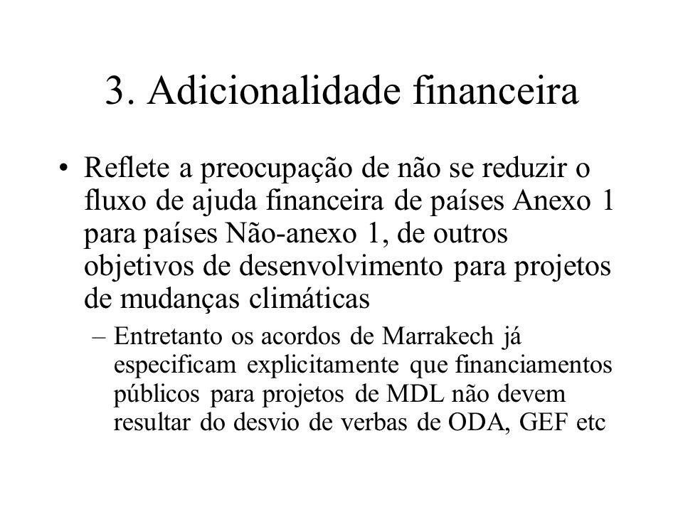 3. Adicionalidade financeira