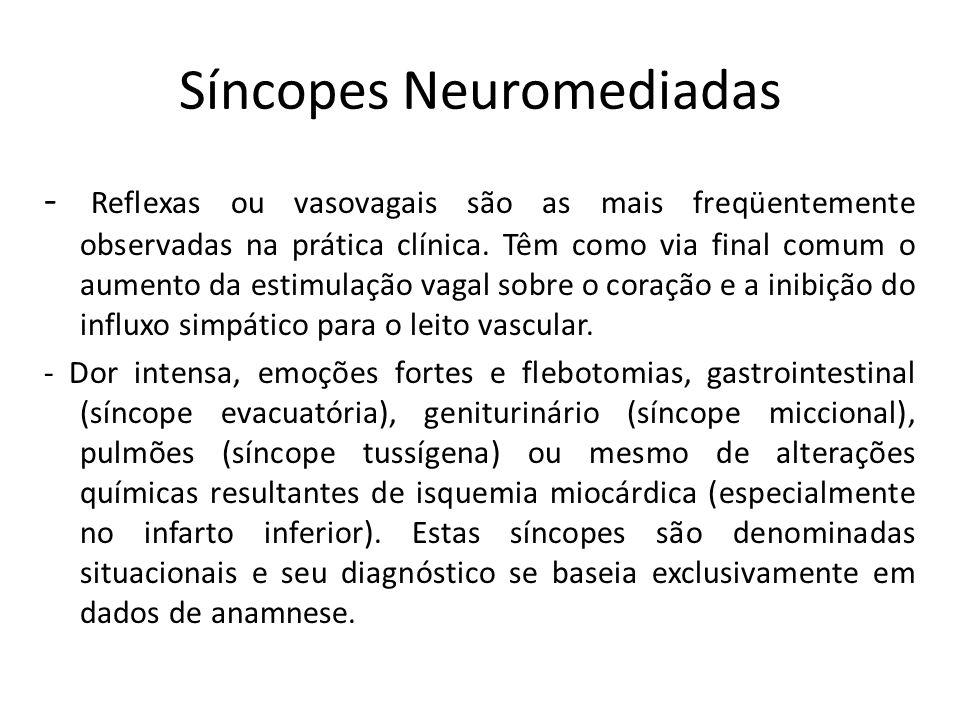 Síncopes Neuromediadas