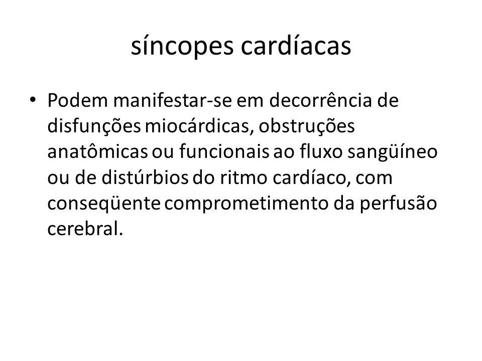 síncopes cardíacas