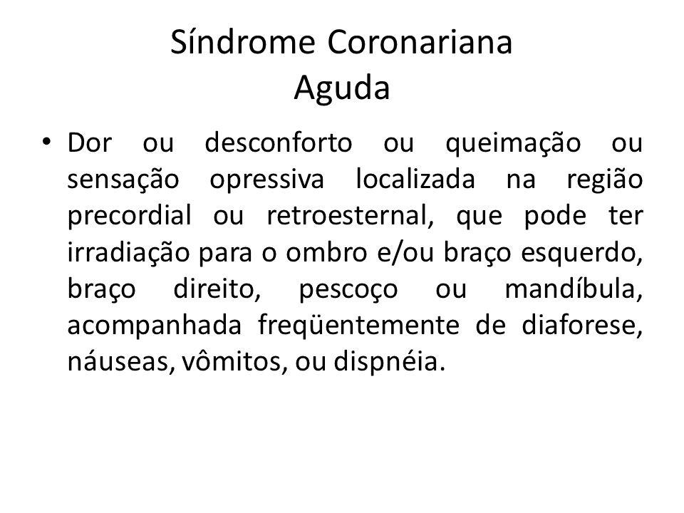 Síndrome Coronariana Aguda