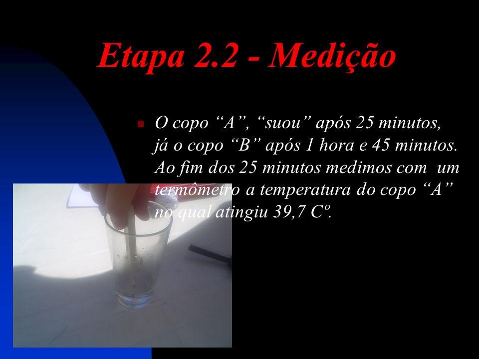 Etapa 2.2 - Medição