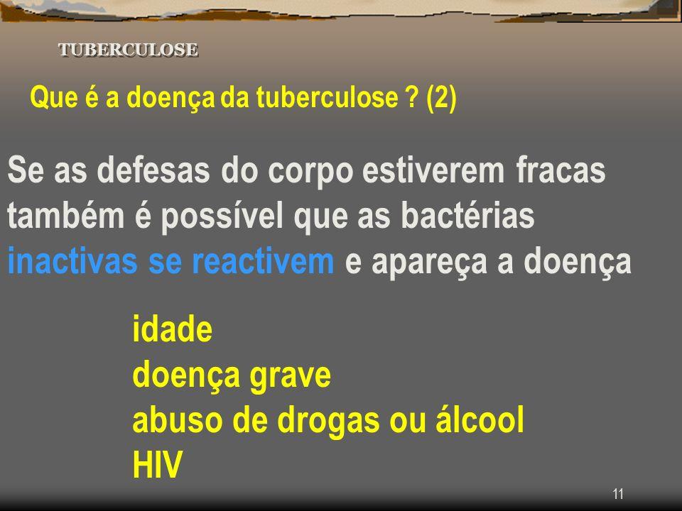 abuso de drogas ou álcool HIV