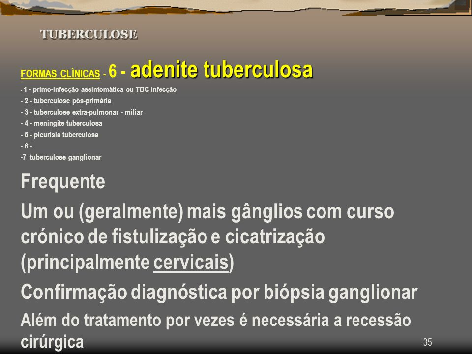 Confirmação diagnóstica por biópsia ganglionar