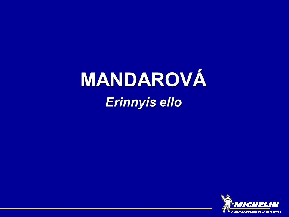 MANDAROVÁ Erinnyis ello