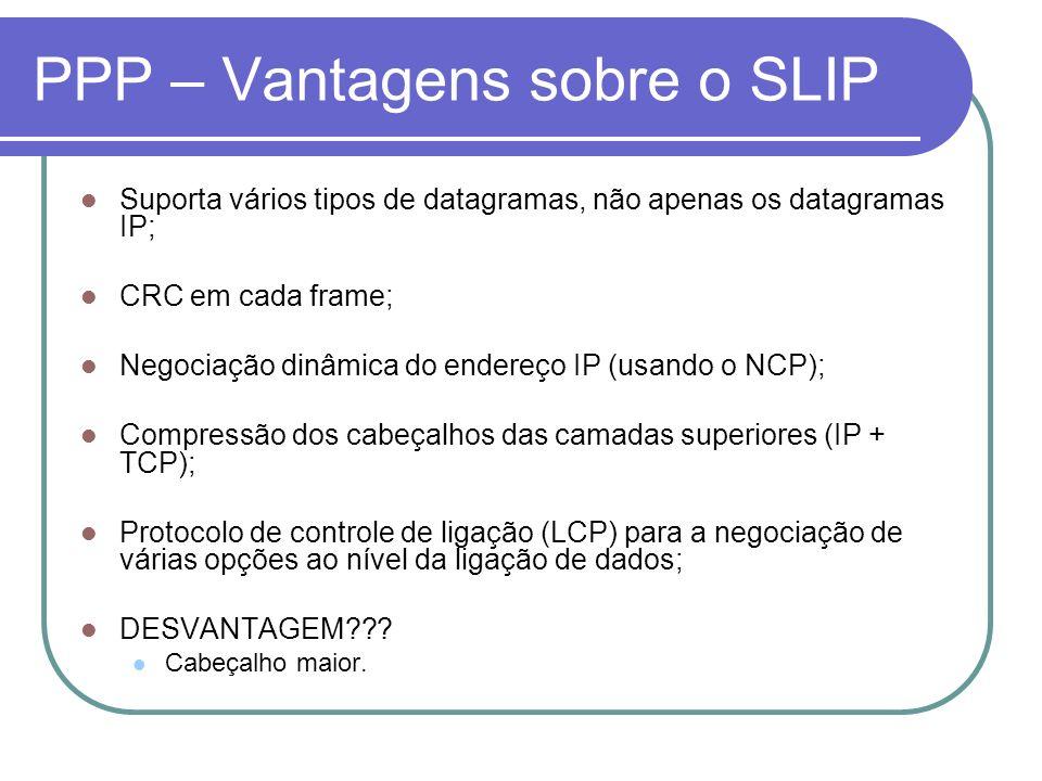 PPP – Vantagens sobre o SLIP