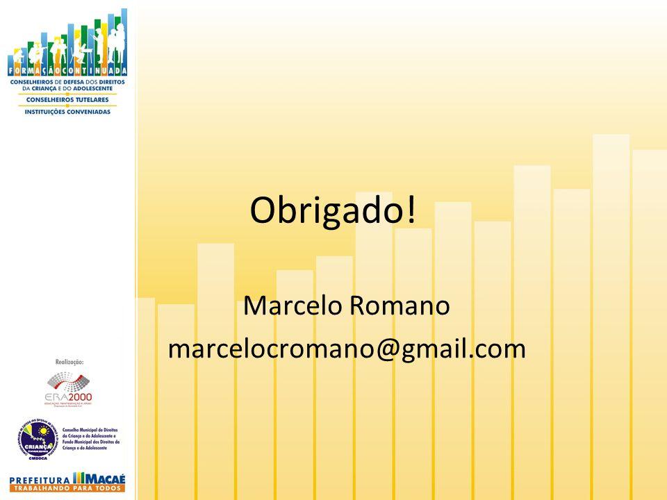 Marcelo Romano marcelocromano@gmail.com