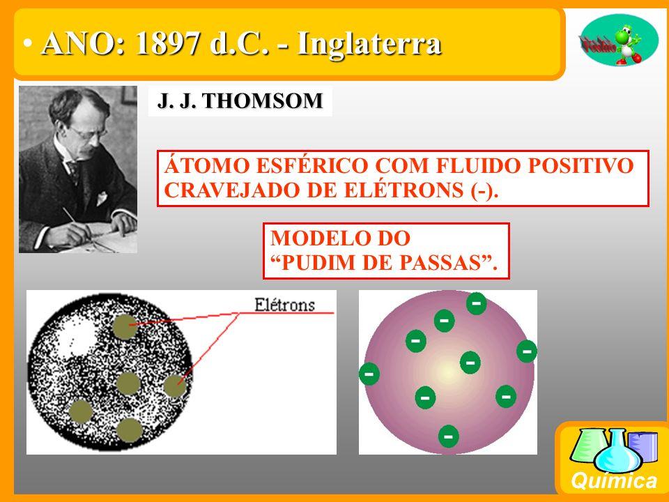 ANO: 1897 d.C. - Inglaterra J. J. THOMSOM