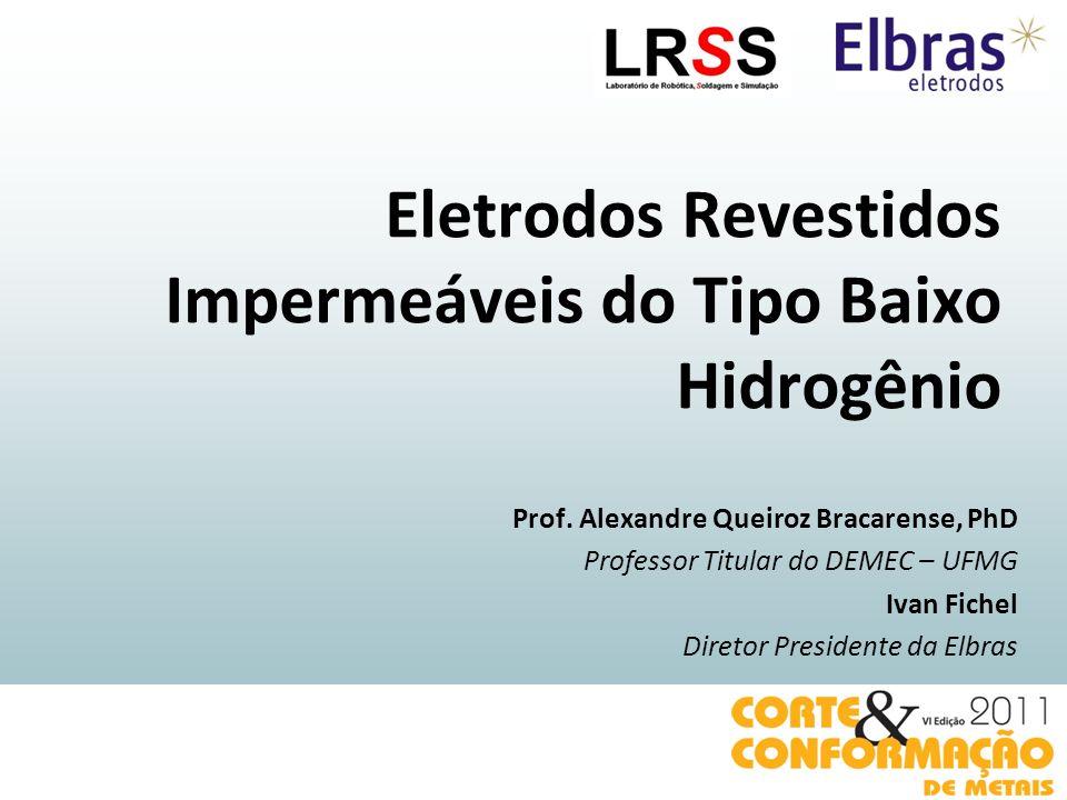 Eletrodos Revestidos Impermeáveis do Tipo Baixo Hidrogênio