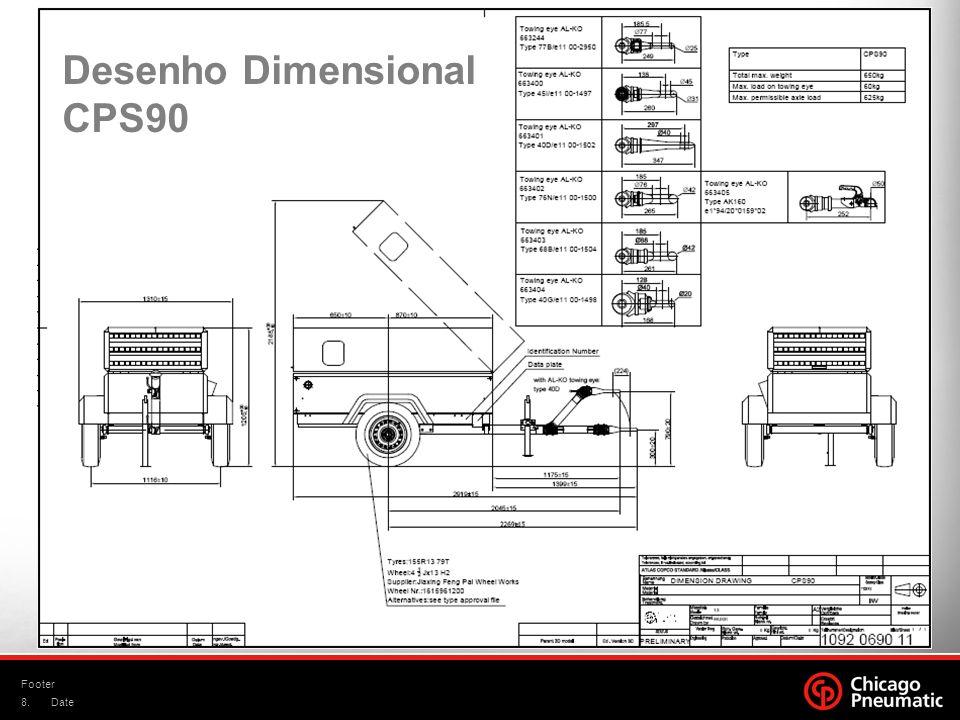 Desenho Dimensional CPS90
