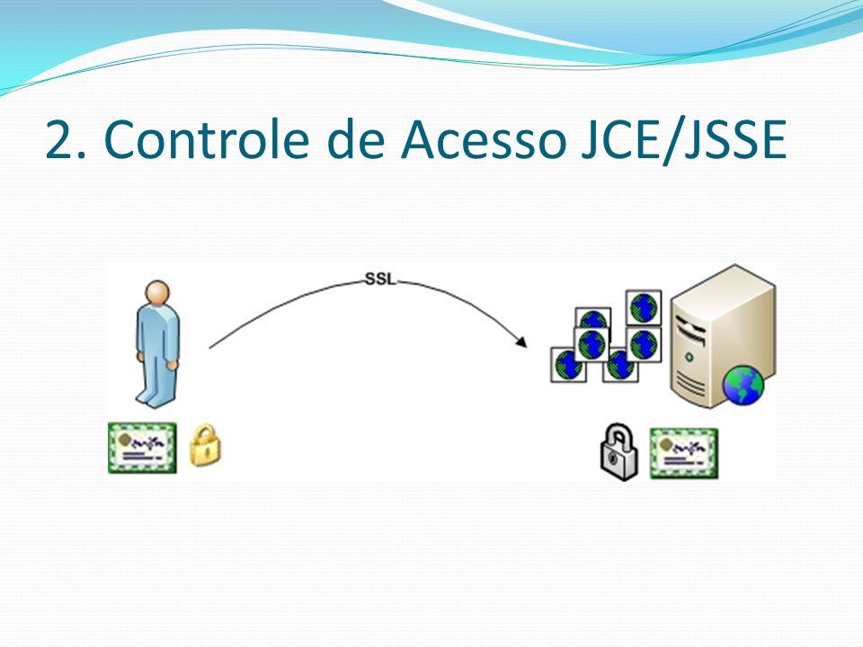 2. Controle de Acesso JCE/JSSE
