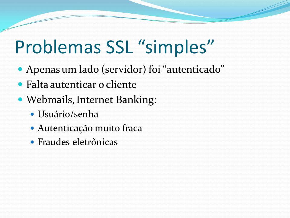 Problemas SSL simples