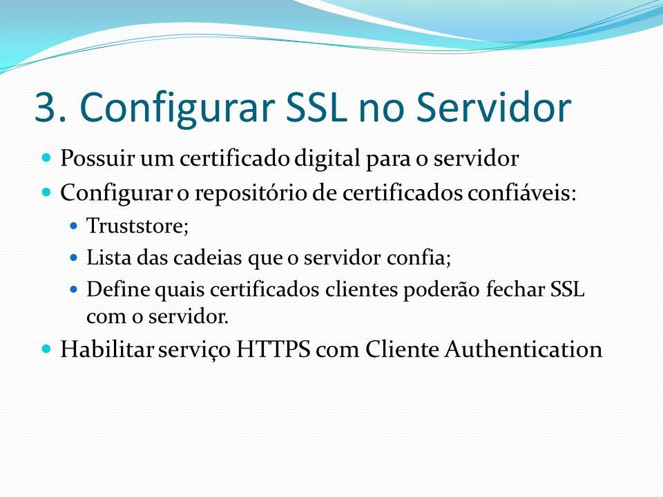 3. Configurar SSL no Servidor