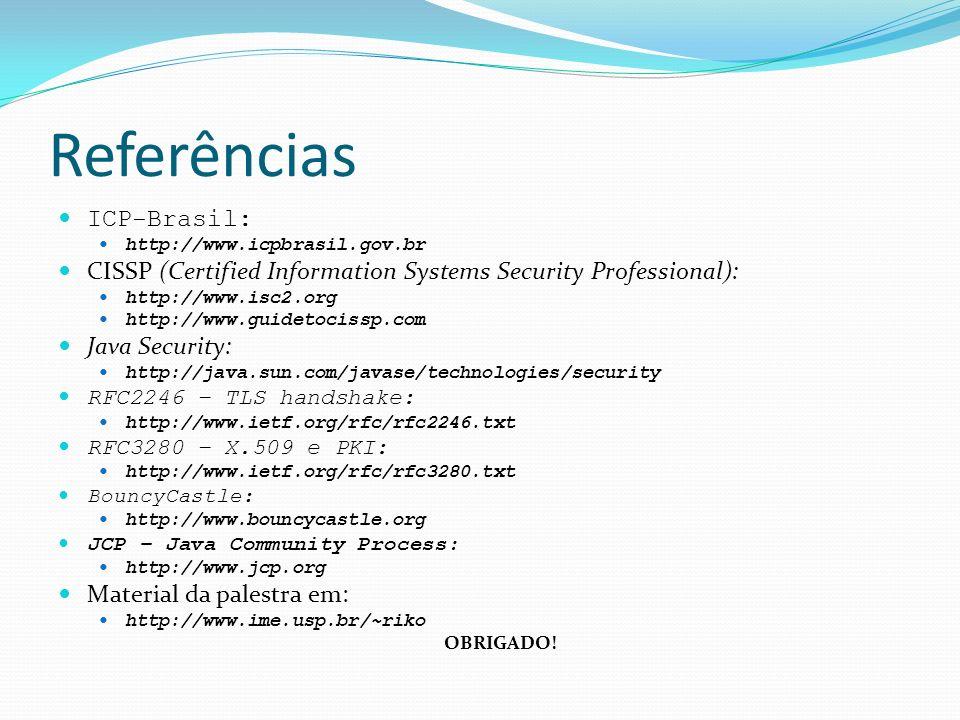 Referências ICP-Brasil: