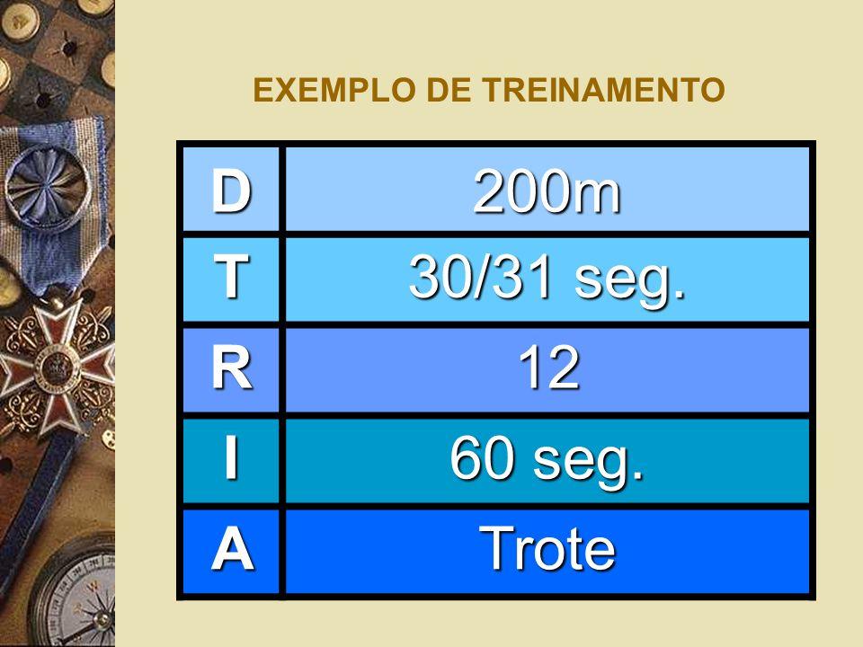 EXEMPLO DE TREINAMENTO