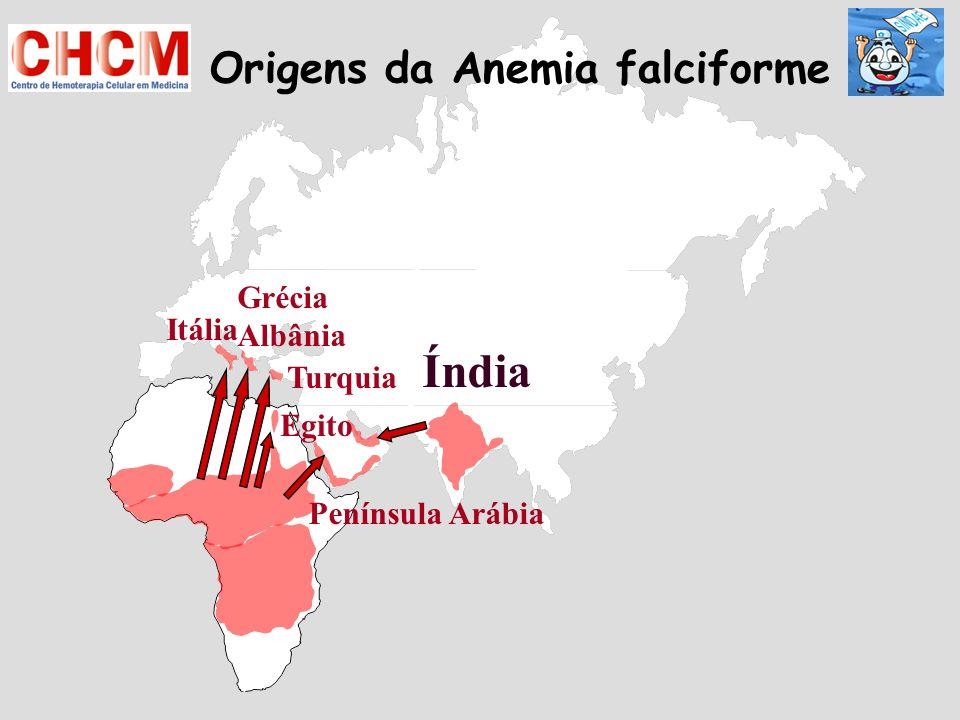 Origens da Anemia falciforme