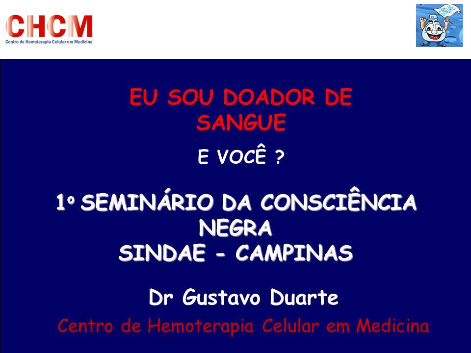 EU SOU DOADOR DE SANGUE Dr Gustavo Duarte