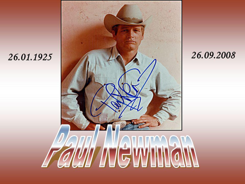 26.09.2008 26.01.1925 Paul Newman