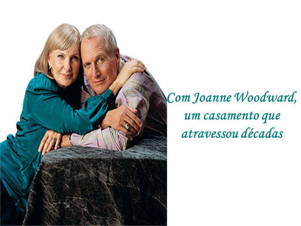 Com Joanne Woodward, um casamento que atravessou décadas