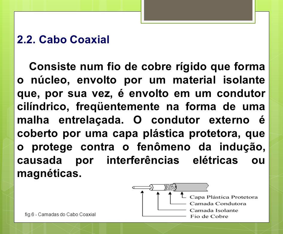 2.2. Cabo Coaxial