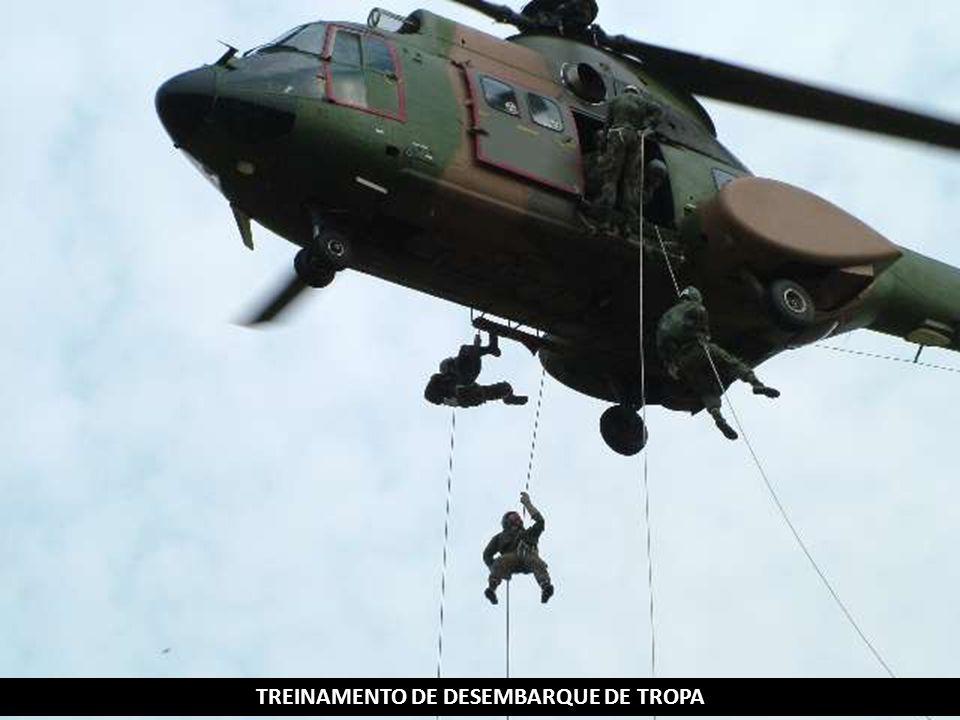 TREINAMENTO DE DESEMBARQUE DE TROPA