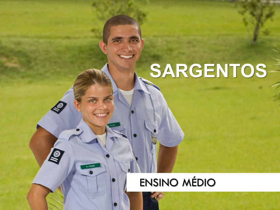 SARGENTOS ENSINO MÉDIO