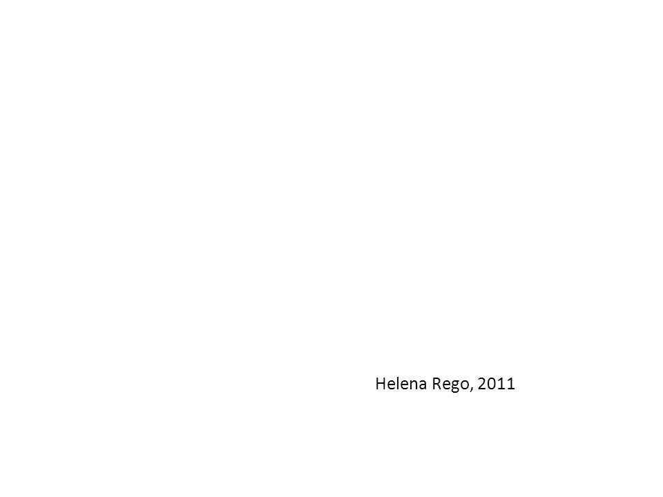 Helena Rego, 2011