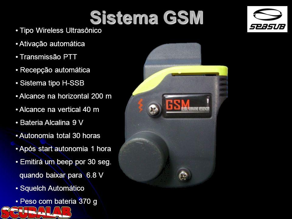 Sistema GSM Tipo Wireless Ultrasônico Ativação automática
