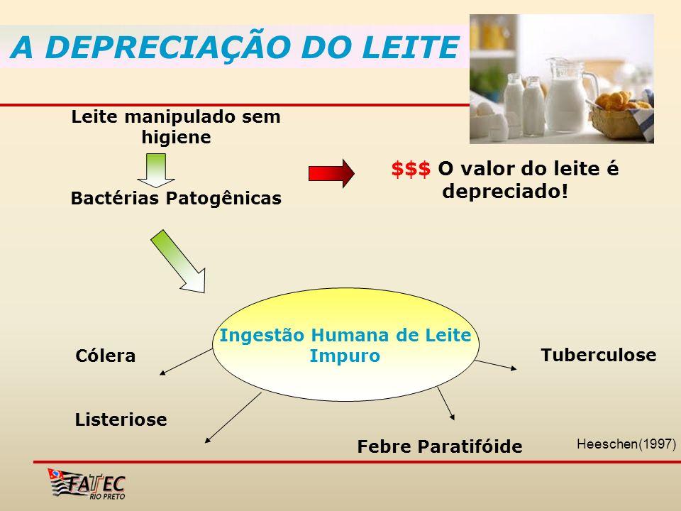 A DEPRECIAÇÃO DO LEITE $$$ O valor do leite é depreciado!