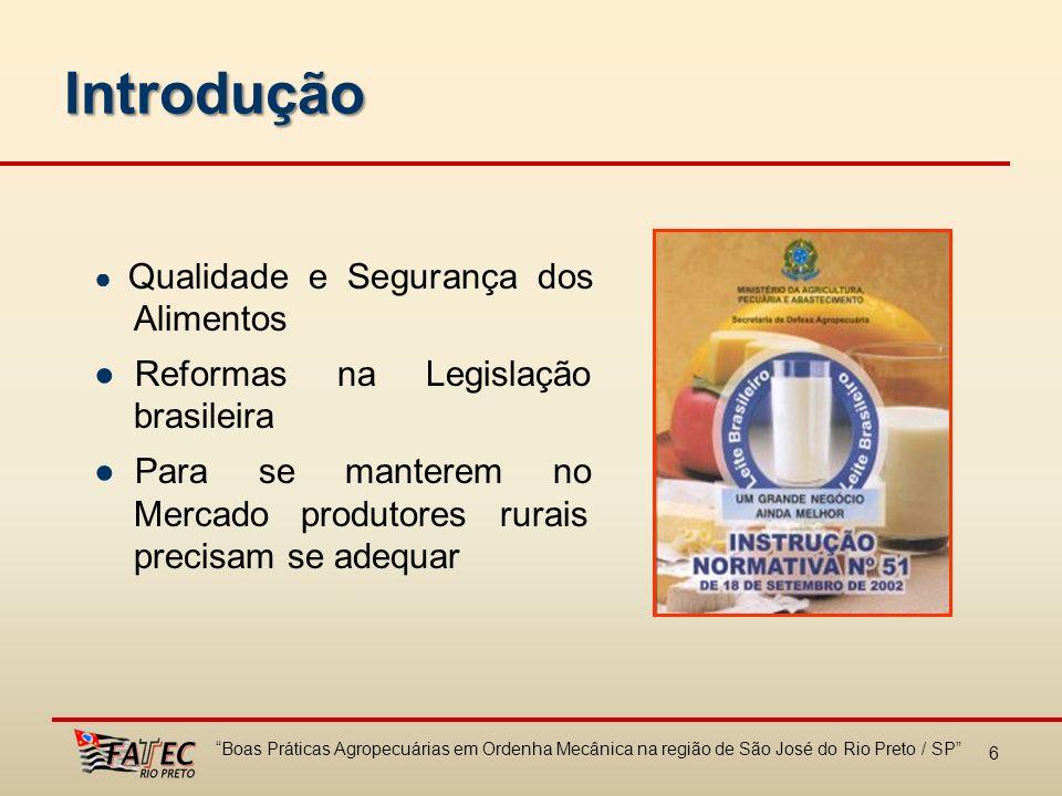 Introdução ● Reformas na Legislação brasileira