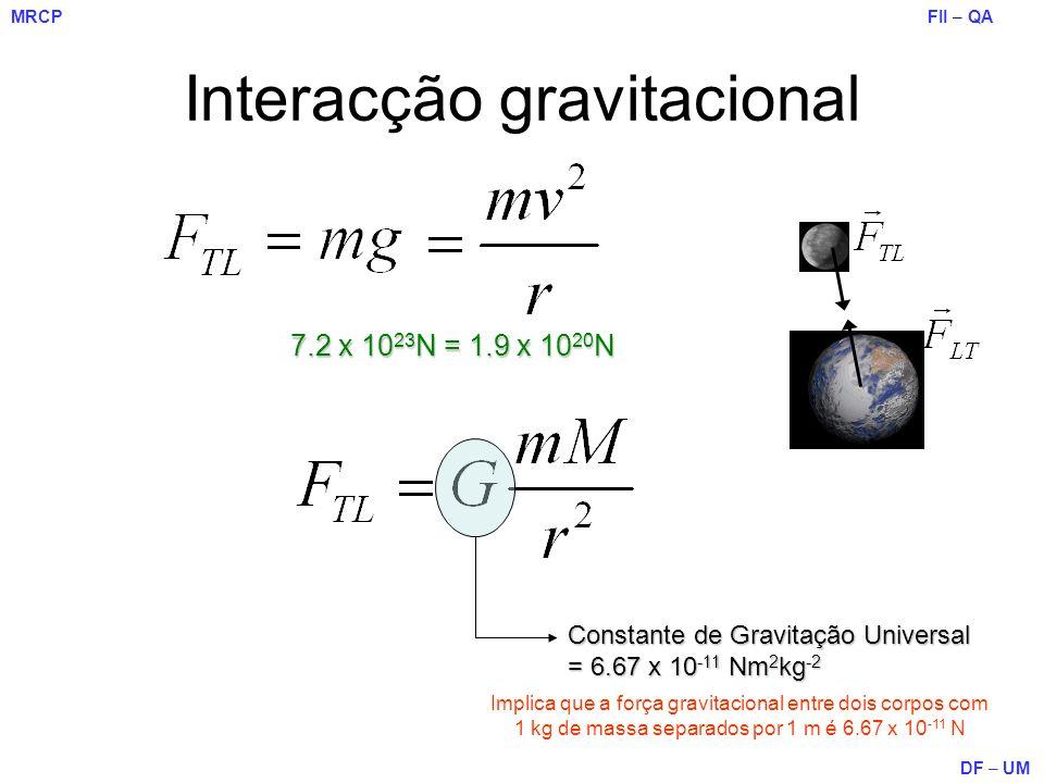 Interacção gravitacional