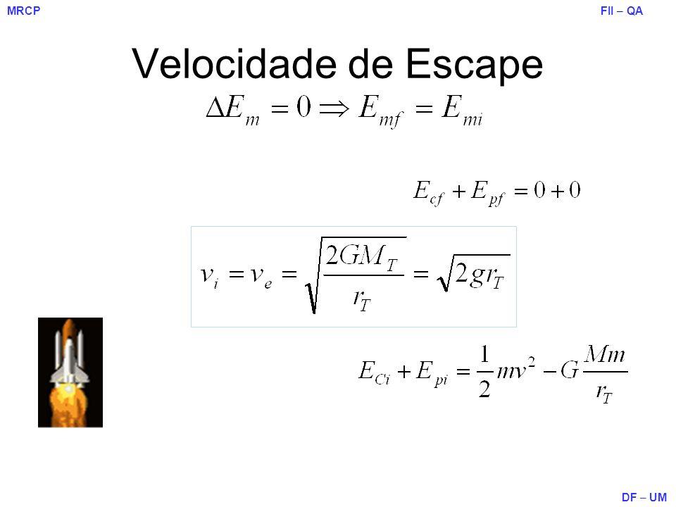 Velocidade de Escape