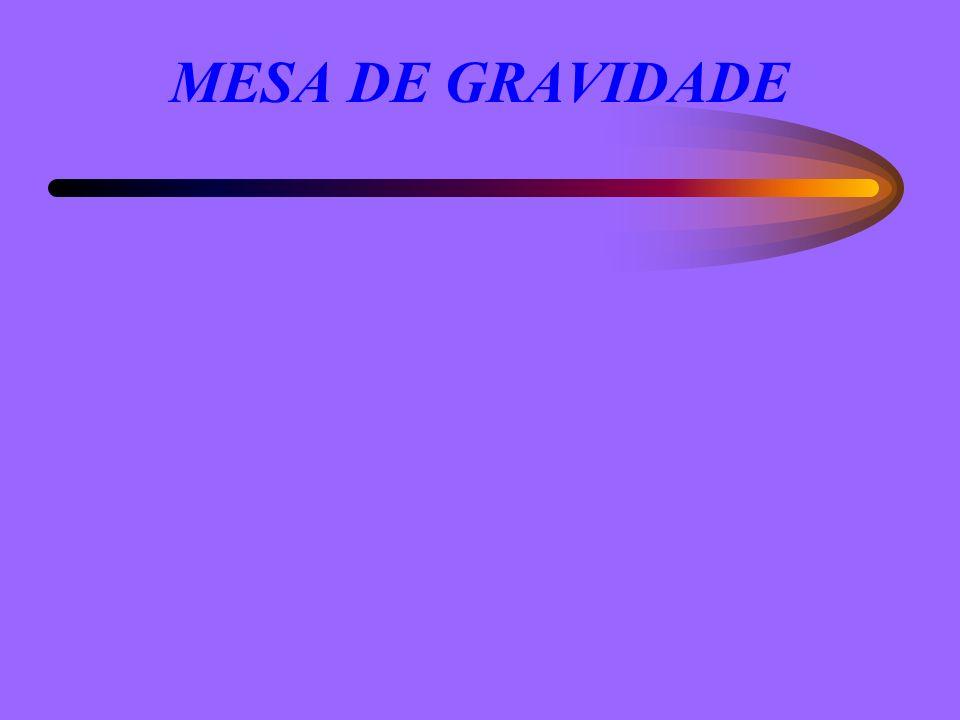 MESA DE GRAVIDADE