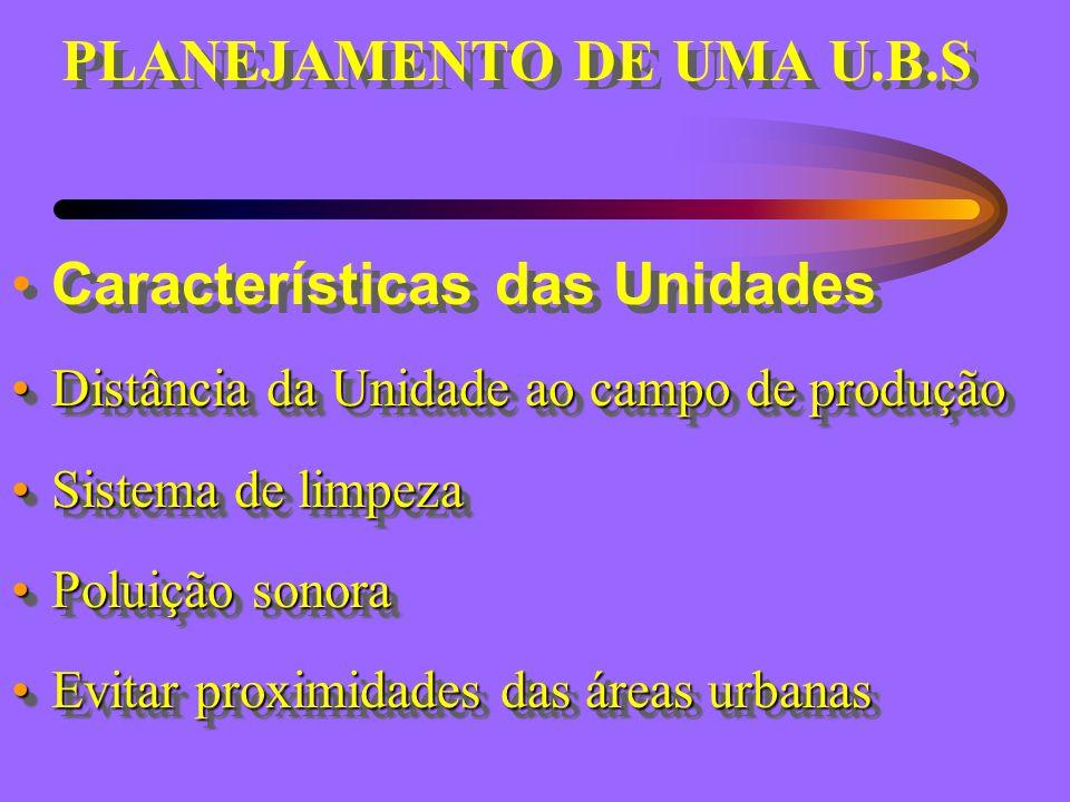 PLANEJAMENTO DE UMA U.B.S