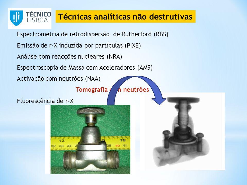 Técnicas analíticas não destrutivas