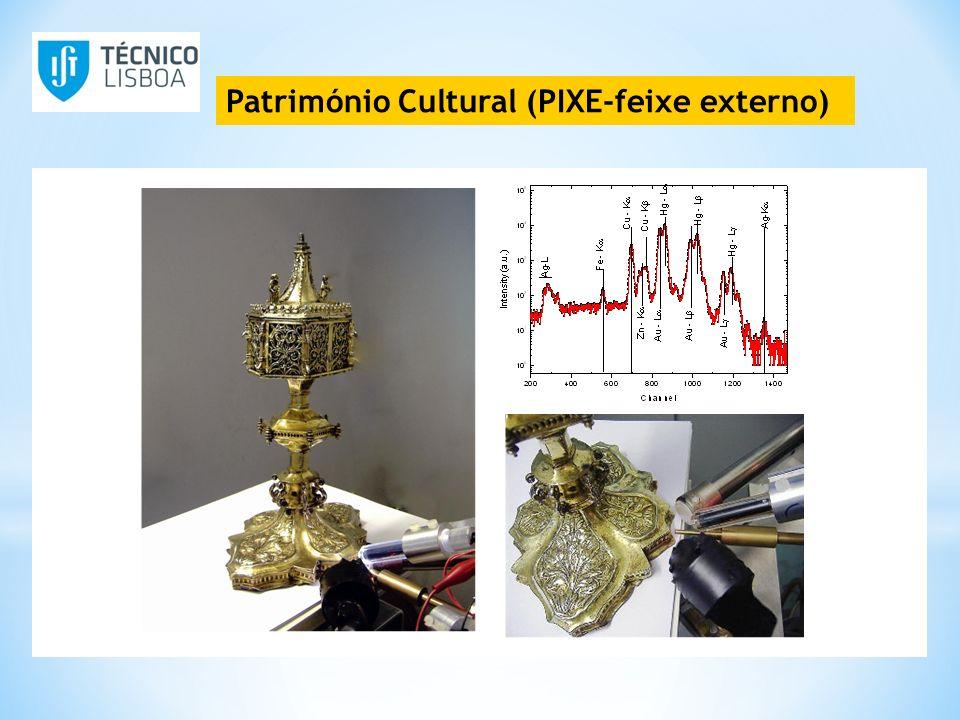 Património Cultural (PIXE-feixe externo)