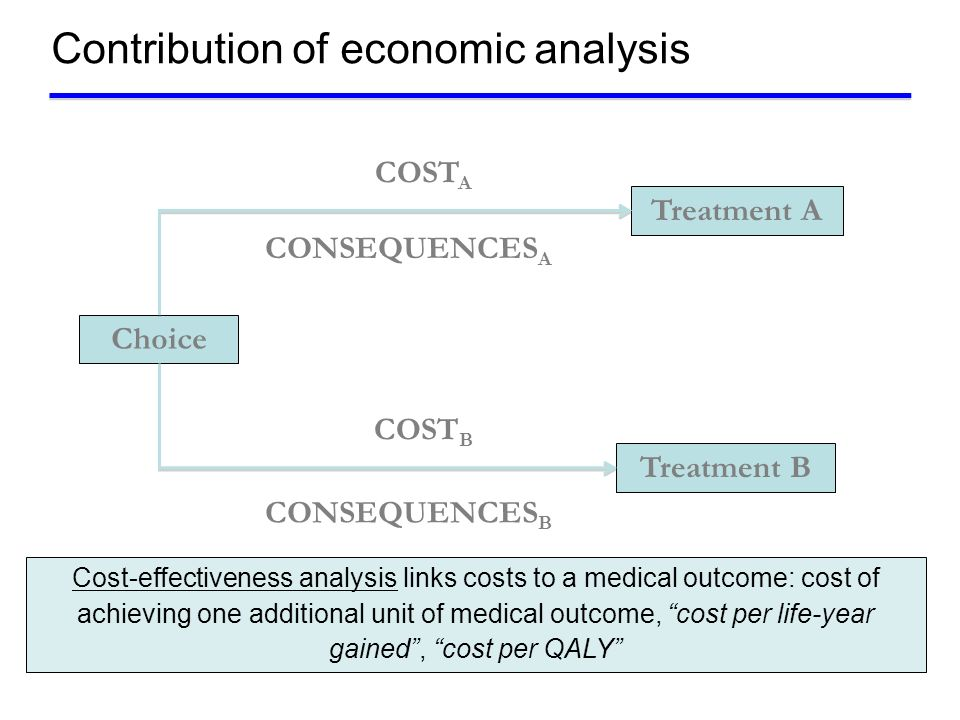 Contribution of economic analysis