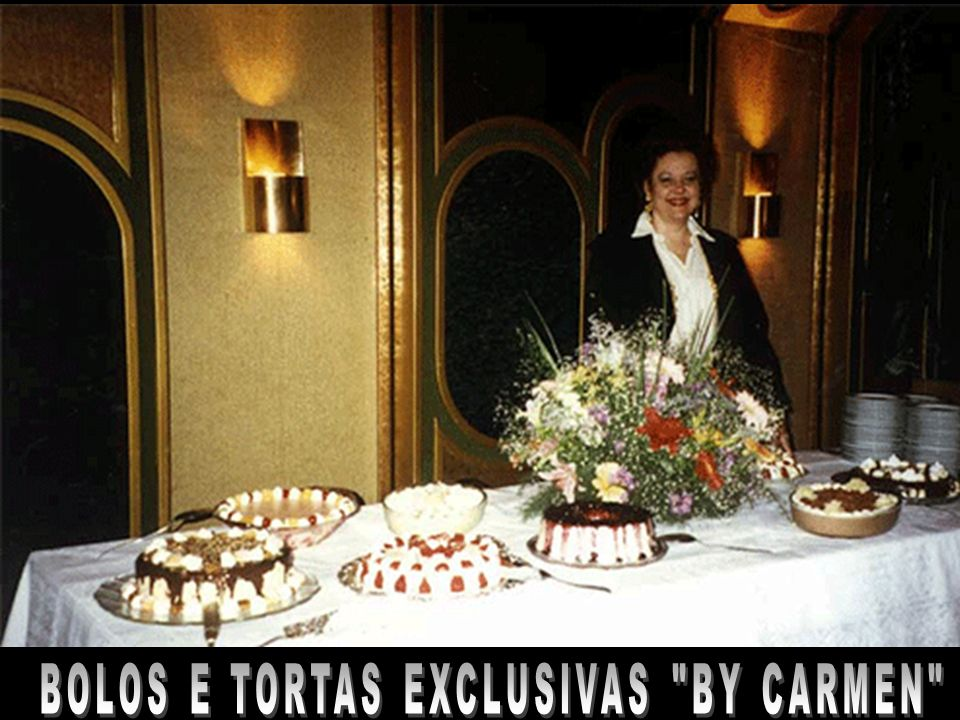 BOLOS E TORTAS EXCLUSIVAS BY CARMEN