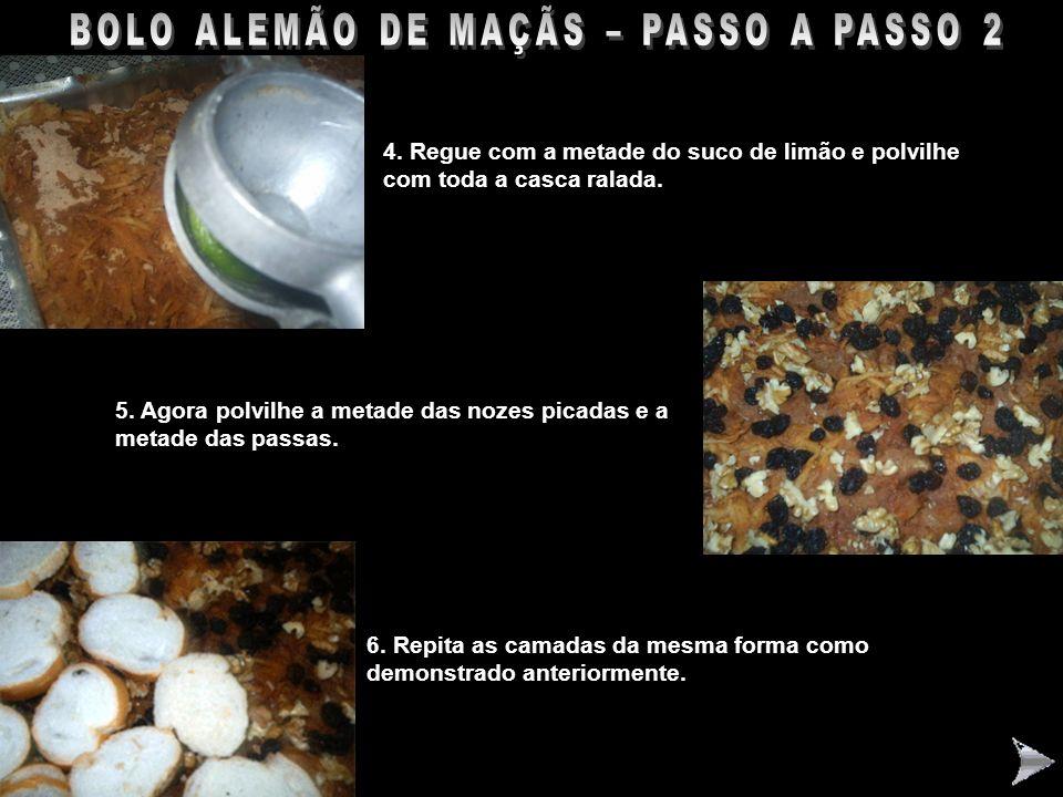 BOLO ALEMÃO DE MAÇÃS – PASSO A PASSO 2
