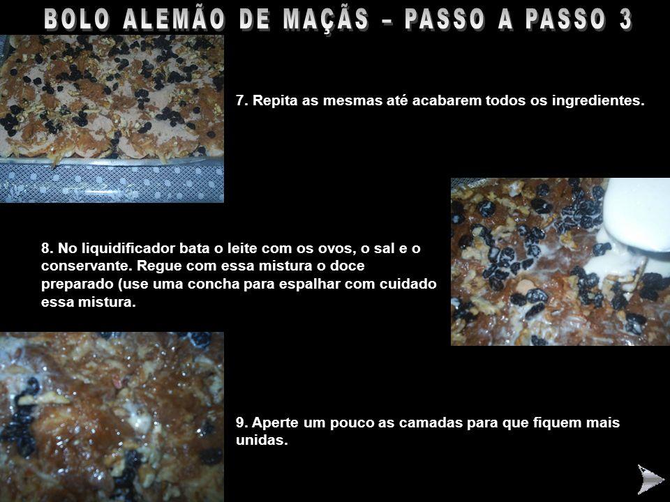 BOLO ALEMÃO DE MAÇÃS – PASSO A PASSO 3